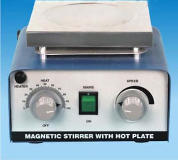 Magnetic Stirrer With Hot Plate 110 V, 2000ml free pellet,