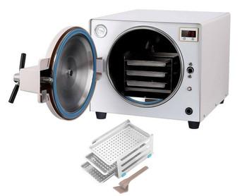 18L Steam Autoclave Sterilizer Dental Medical Tattoo Pressure Sterilization Home