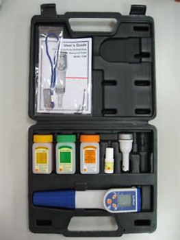 New Waterproof Hand-held Tester:pH/Cond/Temp..multi-funtions +Accessories