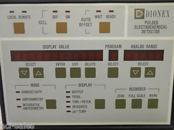 DIONEX PULSED ELECTROCHEMICAL DETECTOR MODEL: PED-1