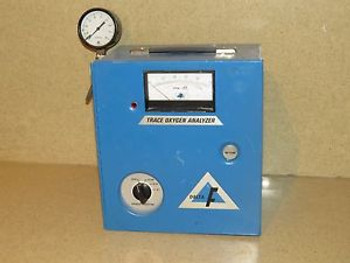 DELTA F  MODEL FA3011SA OXYGEN ANALYZER - 0-1/10/100 PPM (DO3)