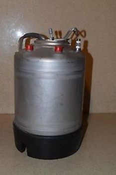 ALLOY PRODUCT t316 STAINLESS PRESSURE TANK - 14 TALL / 9 DIAMETER  (TK5)