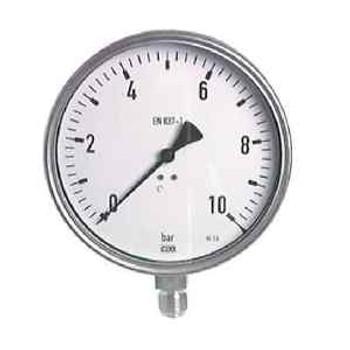 6 3/10In Stainless Steel Manometer 0/1 Bar Chemistry Design