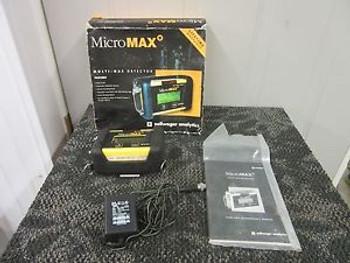 Zellweger Analytics Lumidor Micro Max Mplus 4Abch Gas Detector Portable Used