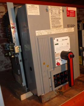 GUARANTEED 3000A GE POWERBREAK I CAT# TC3030SSE1C W/ TS32LSIG RMS-9 PROGR.