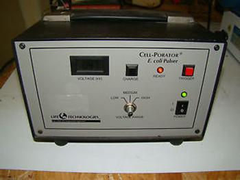028 Life Technologies Cell Porator Electroporation System E. Coli Pulser