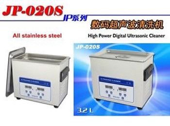New Stainless Steel 3.2L Liter Industry Heated Ultrasonic Cleaner Heater W/Timer