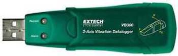 3 Axis Accelerometer Data Logger, Extech, Vb300