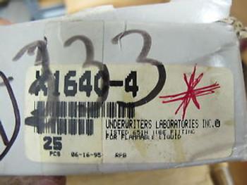 (17) Parker X1640-4 1/4 Brass Tee