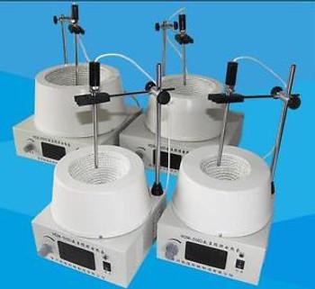1000ml Digital Magnetic Stirring Electric Heating Mantle Temperature Adjustable