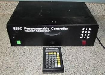++ NEWPORT PROGRAMMABLE  MOTION CONTROLLER MODEL 855c W/855K KEYBOARD - b