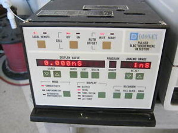 Dionex Model: PED-1 Pulsed Electrochemical Detector  &lt W2