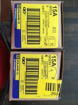 (1) Box Of Five Qo215 New!