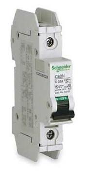 SCHNEIDER ELECTRIC 60107 Circuit Breaker Lug C60N 1Pole 6A