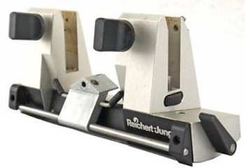 Reichert Jung Adjustable Laboratory Microtome Autocut Knife Blade Clamp Holder