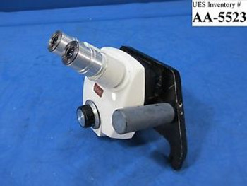 Bausch & Lomb Stereozoom 4 Microscope Head .07x-3.0x used untested sold as is