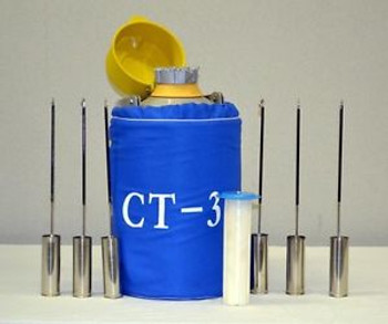 Ct-3 Ctcryogenics Liquid Nitrogen Ln2 Semen Tank