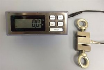 3000 lb x 0.1lb CRANE SCALE - CALIBRATED - LOAD CELL - HANGING SCALE