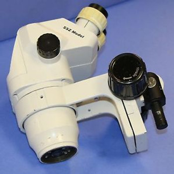 (1) Used Scienscope SSZ Series Stereo Zoom Microscope W/ WF10X22 Eyepieces