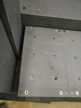 15.75 x 26.5 x 6.75 GRANITE BLOCK FOR ANTI-VIBRATION TABLE APPROX 270LBS