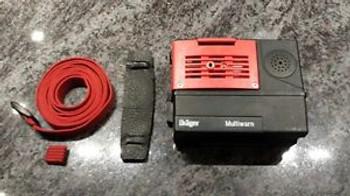 Drager Multiwarn II BEP Hazardous Gas Detectors CI2 , HCN Sensor