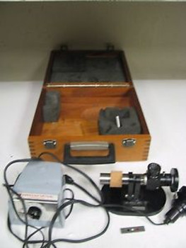 American Optical Laser inc Autocollimator w/ Light and Power Source FL61