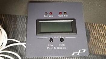 1 to 1500 torr Cole-Parmer Pressure/Vacuum Controller for Diaphragm-Type Sensor