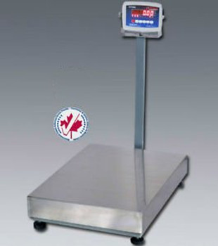 1,000 LB x 0.2 NTEP Optima Digital Platform Shipping Scale Legal For Trade 24x24