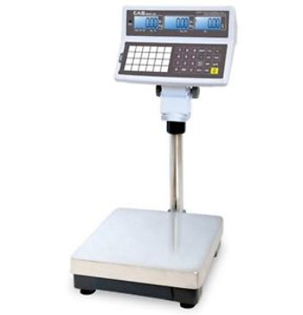 CAS 300 x 0.1 lbs DUAL RANGE PRICE COMPUTING SCALE - NTEP - RETAIL,DELI,MARKETS