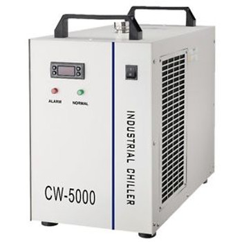 110V CW-5000DG Industrial Thermoly Water Chiller Laser Engraver Machine Cooler