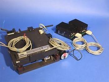 X Y CNC Laser Machining Stage Newport NRC DRC Dynamics Research Stepper Motors
