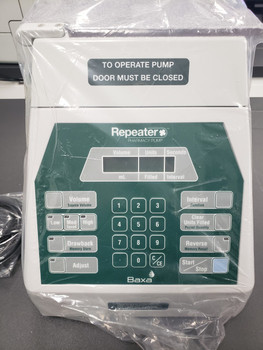 Baxa Baxter Repeater Pump Automated Fluid Transfer - Model 099