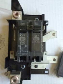 New GENERAL ELECTRIC THQMV100D Circuit Breaker Kit Main 22KAIC 100A 2P