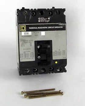 Square D FAL22100WB8041 Thermal-Magnetic Circuit Breaker - 100A 2-Pole