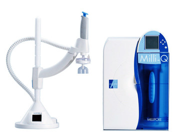 Millipore Milli-Q Advantage A10 Water Purification System + Q-Pod Dispenser