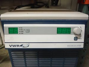 2-Polyscience VWR Recirculator Circulating Chillers Model 1173MD-1 WORKING 1 NOT