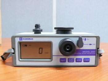 KANOMAX 3431 Digital dust Monitor, Particle counter