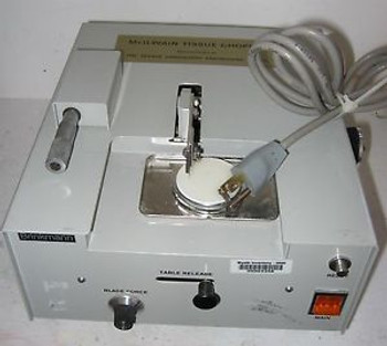 McIlwain Mickle Tissue Chopper Inventory OKM94