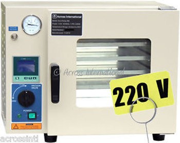 0.9 CF Vacuum Drying Oven 5 Sided Gas Inlet LCD Controller 220V Special Sale