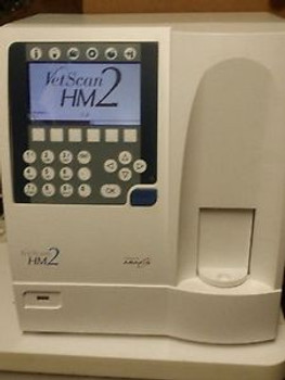 ABAXIS VETSCAN HM2 HEMATOLOGY LAB ANALYZER HM2B