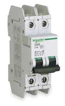SCHNEIDER ELECTRIC 60141 Circuit Breaker Lug C60N 2Pole 6A