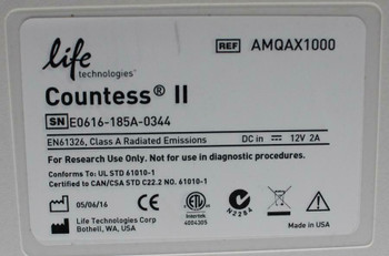 Countess II Automated Cell Counter Invitrogen