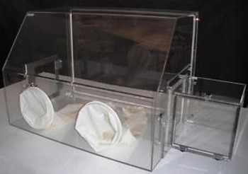 Laboratory Glove Box, Nitrogen Glove Box for Lab with Transfer Chamber Acrylic
