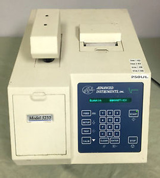 AI Advanced Instruments 3250 Freezing Point Osmometer 250ul w/ Thermal Printer
