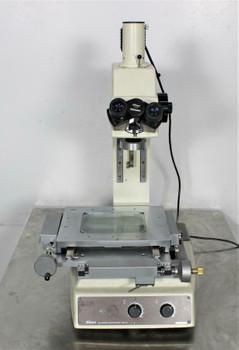 Nikon MM-40 Measuring Microscope Brightfield Darkfield Digital Micrometer Head