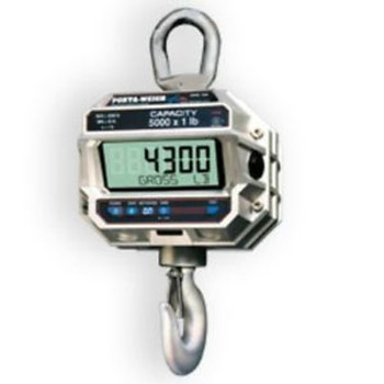 10,000 LB x 2 MSI-4300 Port-A-Weigh Plus NTEP Digital Marine Fishing Crane Scale