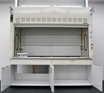8' Fisher Hamilton Safeaire Laboratory Fume Hood w/ Base Cabinets & Top -E1-526