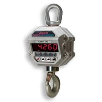 20,000 LB x 5 LB MSI-4260B Port-A-Weigh NTEP Hanging Digital Crane Hoist Scale