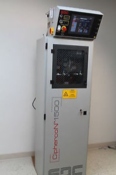 SDC CiphercoN 1500 Automated Hazardous Gas Cylinder Delivery Control Cabinet