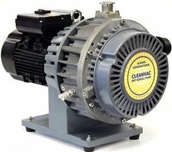 AI CleanVac 11 cfm 19 micron Oil Free Dry Scroll Vacuum Pump w/ Filter Oven